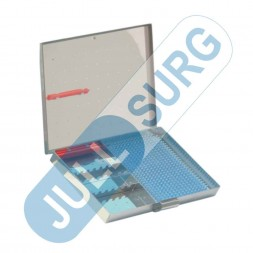Buy Micro Instruments Tray For Forceps & Micro Point With Silicone Mat