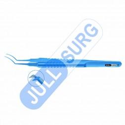 Buy Utrata Capsulorhexis Forceps Curved Jaw, Titanium