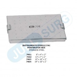Buy Instruments Sterilizing Perforator Box Stainless Steel